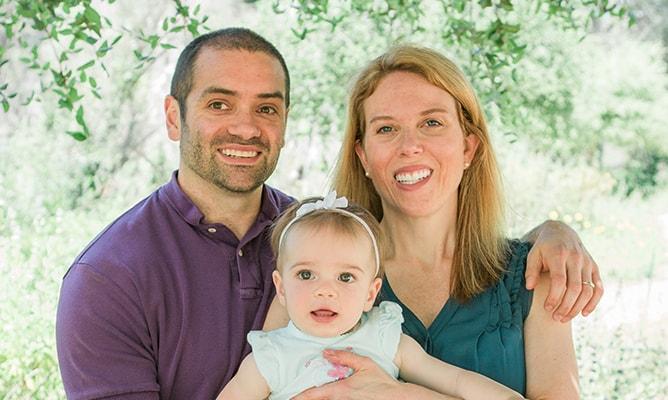 Dr. Miller & family