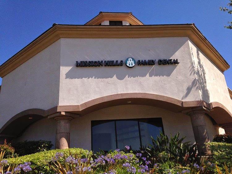 Mission Hills Family Dental building