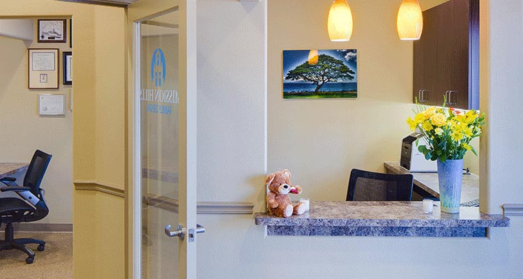 Reception - Mission Hills Family Dental
