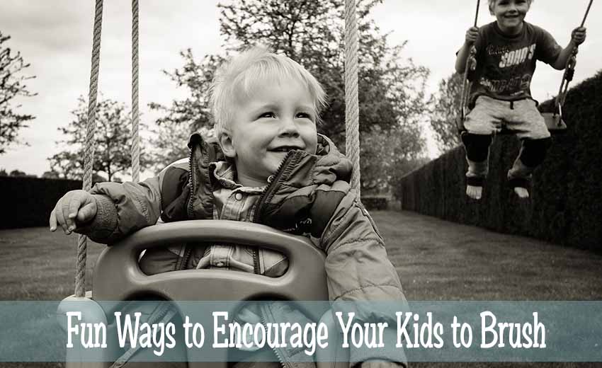 Fun Ways to Encourage Your Kids To Brush
