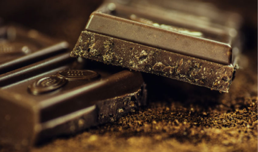 dark chocolate that research shows is good for teeth